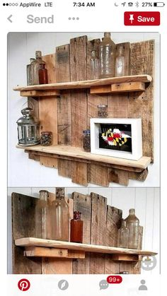 Our barnwood shop is now open and we are proud to offer these custom made shelves each one will.be unique in its own way and might differ from one in pic in color shelf is approx 40 inch by 30 in comes dis assembled with tools and instructions free ship USA