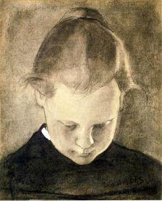 The Reading Girl - Helene Schjerfbeck