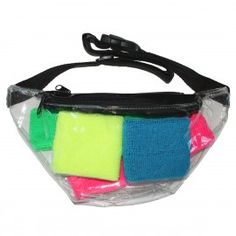 The Show Off Fanny Pack - clear fanny pack. $24.95