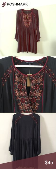 American Eagle Outfitters Dress Beautiful and comfy boho dress from AEO. Brand new with tags. American Eagle Outfitters Dresses Long Sleeve