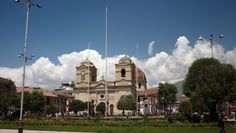Huancayo´s Central Square - Peru - I did not get a shot this far away but we did get nice pictures of the center of town :)