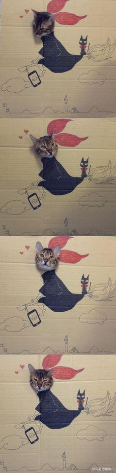 KiKi's delivery service..
