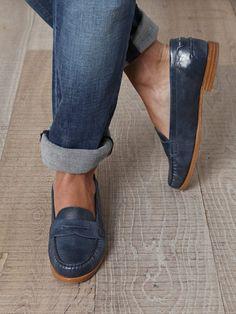 MAXMARA  Rabat leather loafers