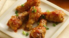 Slow Cooker Ginger Chicken Wings | Magic Skillet http://newestrecipes.com ✿  ☂. ☺  ☺