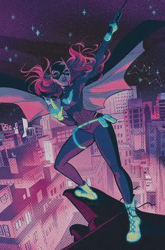 Batgirl #52 by Babs Tarr *