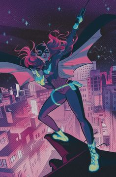 BATGIRL #52 Written by BRENDEN FLETCHER Art by ELEONORA CARLINI Cover by BABS TARR