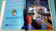 28 best gertrude ederle images on pinterest champion reading americas champion swimmer gertrude ederle one extra degree fandeluxe Gallery