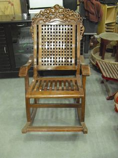 We Have Added A Sheesham Wood Rocking Chair Our Store You Can Check It There