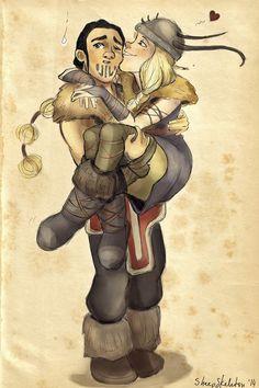 'You Son of Eret!' by sheepSkeleton.deviantart.com on @deviantART New otp