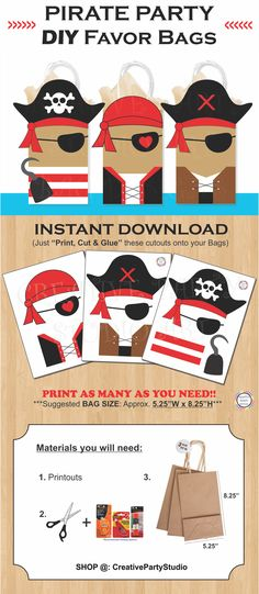 New birthday party invitations diy cupcake toppers 51 Ideas Pirate Halloween Party, Pirate Party Games, Pirate Party Supplies, Pirate Party Favors, Pirate Party Decorations, Pirate Birthday Invitations, Birthday Supplies, Pirate Theme, Birthday Decorations