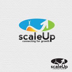 Logo Design for scaleUp a consulting & event management company | HiretheWorld