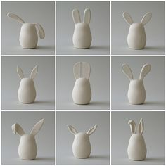 9 bunnies by ArtMind etcetera, via Flickr