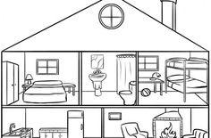Tips para elegir la hipoteca Dibujo de casa Dependencias de la casa Dibujos de habitaciones
