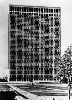 L.Adamov, B.Zaritsky, B.Mezentsev, e.rozanov and v.shestopalov: the uzbek SSR ministries building, uzbekistan (1973)