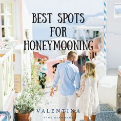 Best Honeymooning Spots for All Tastes - Valentina Fine Diamonds Best Honeymoon Spots, Honeymoon Destinations, Beach Bum, Infographics, Diamonds, Wedding Dresses, Bride Dresses, Bridal Gowns, Infographic