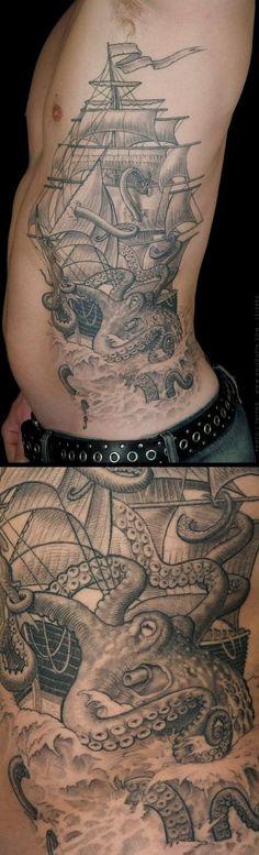 31 Meilleures Images Du Tableau Tatouage Kraken Kraken Tattoo