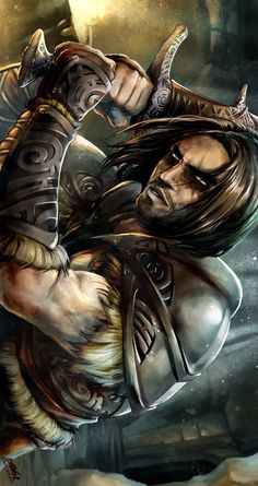 I wish he was this attractive in the game... Farkas of the Companions by NekoWork