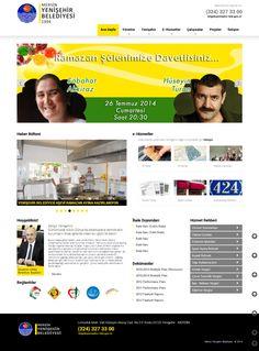 Mersin Yenişehir Belediyesi uzun süredir atıl durumda olan ve eski bilgiler içeren web sitesini yenileyerek Yenişehirlilerin hizmetine sundu.