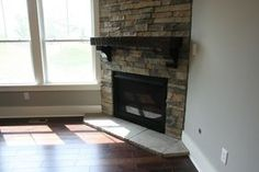 The Fireside Retreat – Corner Stone Fireplace