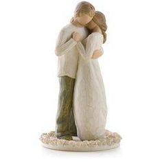 Willow Tree® Promise Wedding Engagement Love Figurine & Wedding Cake Topper, , large