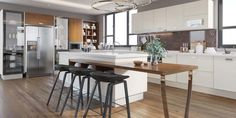 Mobiline Expert Cluj - suntem o echipă dinamică cu o experiență vastă in producția de mobilier la comandă. Ideile și pasiunea cu care ne facem treaba sunt bunurile noastre cele mai de preț, iar satisfacția clienților noștri este dovada că ne îndeplinim cu ... Kitchen Cabinet Design, Kitchen Cabinets, Latest Kitchen Designs, Particle Board, Panel Doors, Wood Veneer, Countertops, Kitchen Island, Flooring