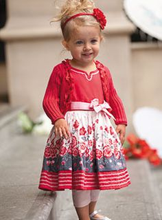 darling! darling! darling! <what a precious little girl...and the dress is darling, too!