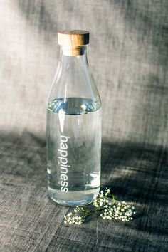 affirmation bottle - happiness