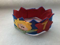 """Coroa de Feltro """"O Pequeno Príncipe"""""""