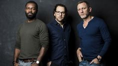 "dc-skyfall: "" The Othello Team: David Oyelowo, director Sam Gold and Daniel Craig. source: http://www.etonline.com/features/204027_david_oyelowo_on_why_othello_is_still_relevant/ ""Now, he's [David] found an ""equally obsessive workaholic nutter"" in..."