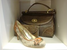 Guess shoes and Nine West purse