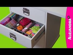 [VIDEO]: How to Organize Your Desk Drawers (Part 3 of 9 Home Office Organization Series)Alejandra.tv