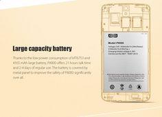 Elephone P8000 Octa-core Phone - Golden - Free Shipping - DealExtreme