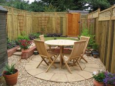 Circular Traditions - A small, low-maintenance Victorian terrace garden with a c. Circular Traditions – A small, low-maintenance Victorian terrace garden with a circular seating a