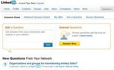 LinkedIn Tips nr 8 – Husk Answers-funksjonen http://jobbportalen.no/blogg/linkedin-tips-nr-8