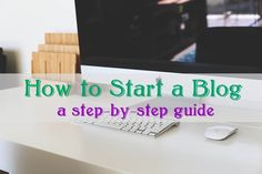 Ever thought about starting a blog? Check out this step-by-step guide on how to get started.