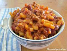The Country Cook: Chili Mac