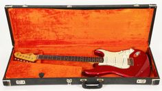 1964 Fender Stratocaster - Early Candy Apple Red Strat, 100% Orig | Reverb