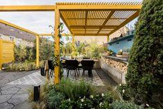 Moderne Mediterrane Tuin – StyleGardens Dark Flower, Mediterranean Garden, Small Gardens, Pergola, Outdoor Structures, Patio, Outdoor Decor, Garden Ideas, Lounge