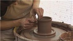 Clay Toothbrush Holder: Create Top Flange