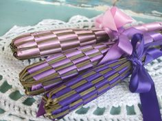 A Polar Bear's Tale: Lavender wands. Lavender Wands, Polar Bear, Blog, Gifts, Presents, Blogging, Favors, Gift