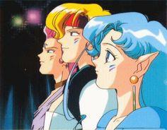 Sailor Moon ~~ The Amazon Trio :: Hawk Eye, Tiger Eye, and Fish Eye