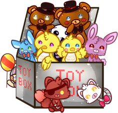 Five Nights at Freddy's 2 Toy box