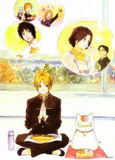 Natsume Yuujinchou - Natsume & Nyanko-sensei