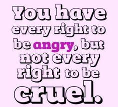 Don't be cruel!!