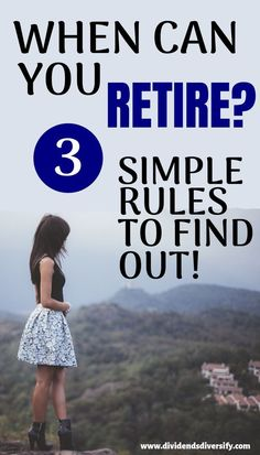 Use these simple retirement calculations to figure out how much you need to save before you can retire! Then get started on your path to financial independence. You don't have to be a millionaire to live a rich life and have your financial freedom. Retirement Budget, Retirement Advice, Saving For Retirement, Early Retirement, Retirement Planning, Business Planning, Retirement Strategies, Dividend Investing, Budget Planer