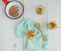 Met dit voedzame ontbijt van geroosterde boekweit met mango haal je het zonnetje in huis. Lekker en makkelijk klaar te maken.