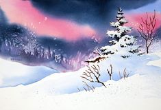 New Snow Painting - New Snow by Teresa Ascone