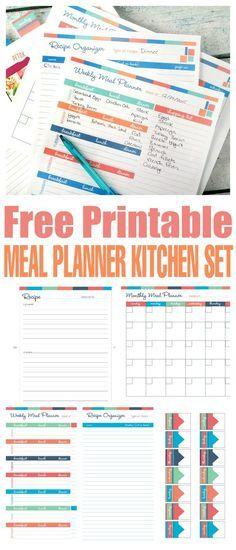 Free Printable Meal