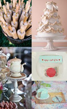 Bridal shower tea party inspiration