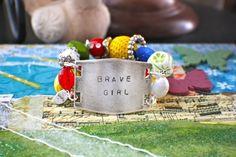 SPECIAL Celebrating Brave Girls Bracelet by MyChickadeeDesigns, $27.95